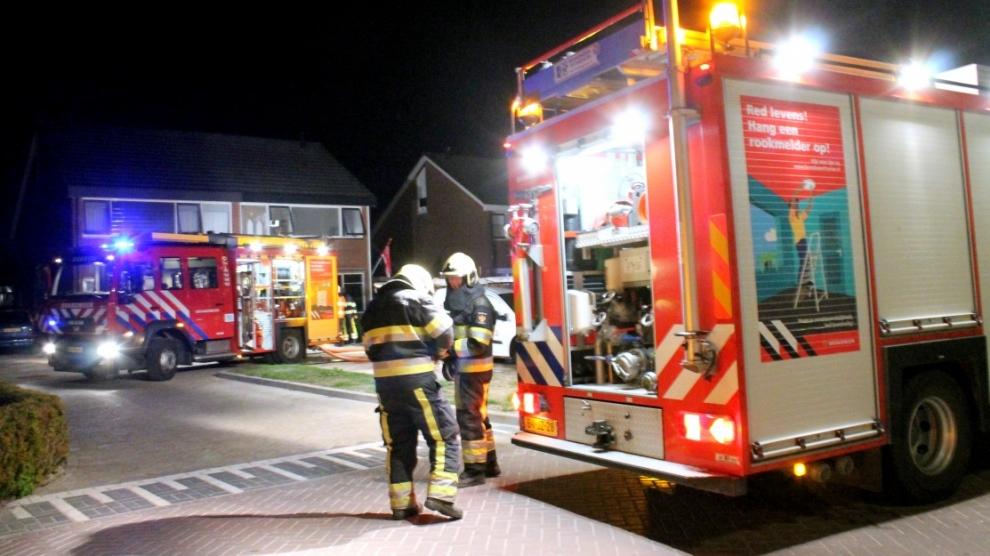 Politie vermoedt brandstichting bij woningbrand met gewonden
