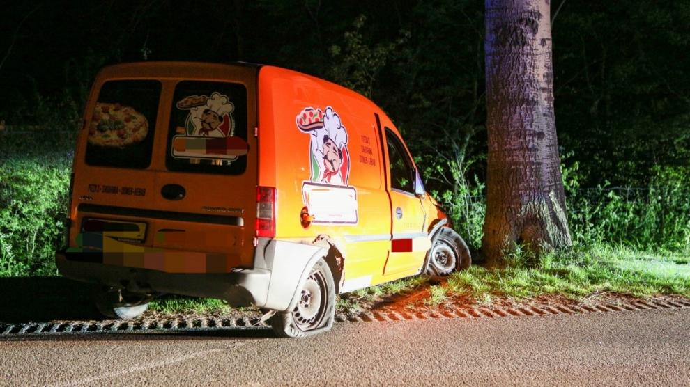 Hulpdiensten in actie voor eenzijdig ongeval