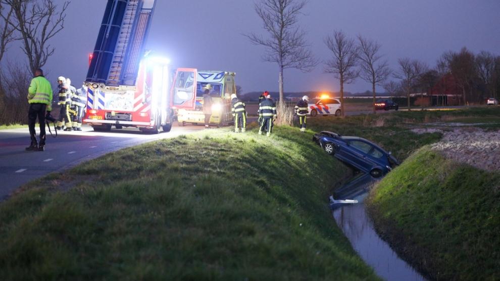 Bestuurder gewond na eenzijdig ongeval