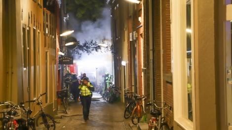 Brand in studentenpand in binnenstad