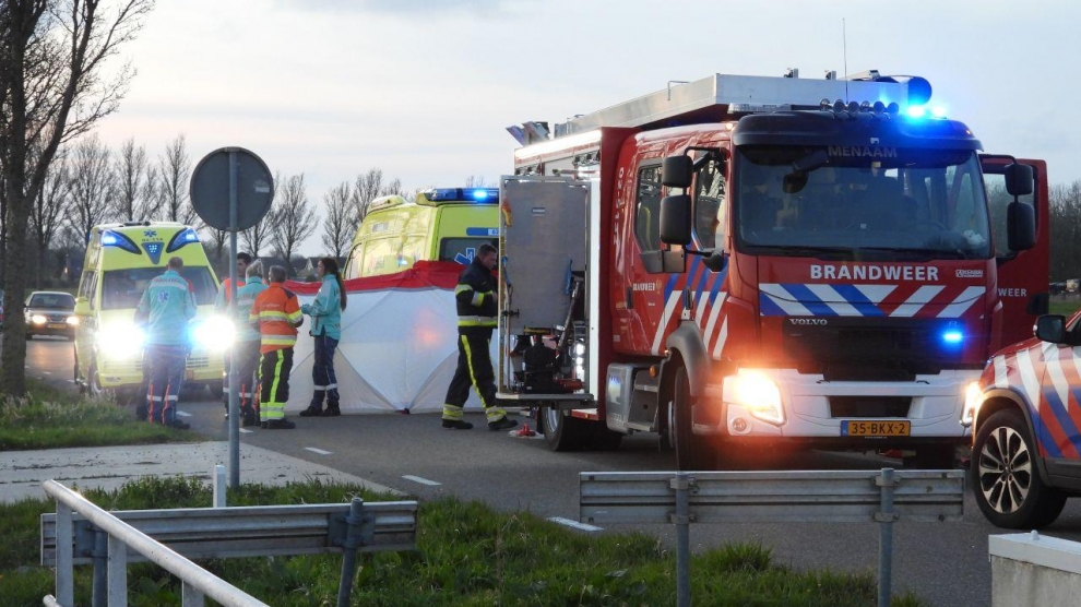 Automobilist overleden na eenzijdig ongeval