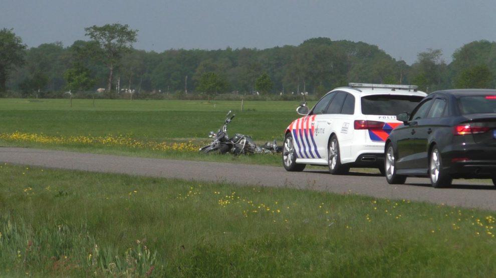 Twee motorrijders onderuit