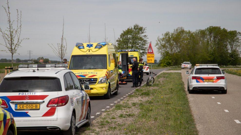 Wielrenners gewond bij ongeval