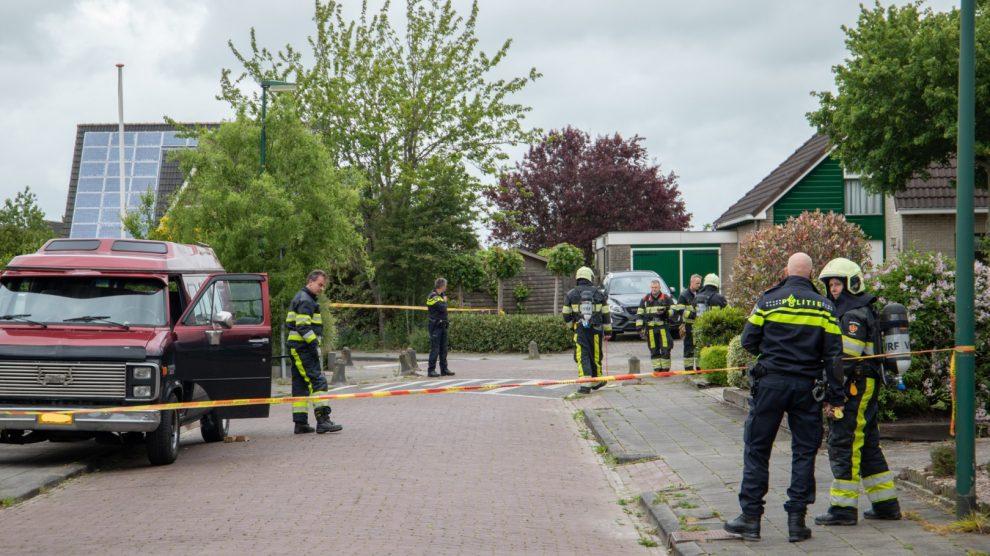 Brandweer ingezet voor lekkende LPG tank