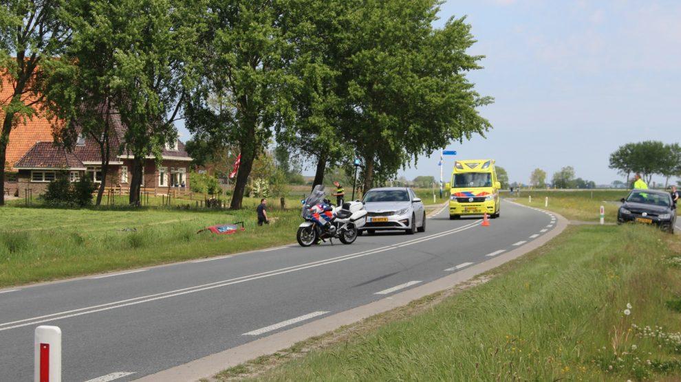 Twee kinderen en volwassene gewond bij ongeval