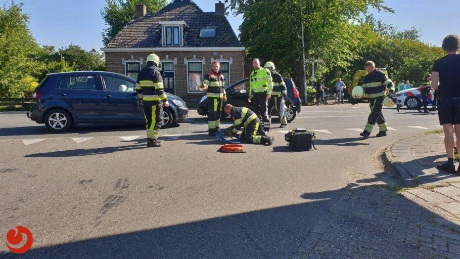 Traumaheli ingezet bij ongeval op kruising N355