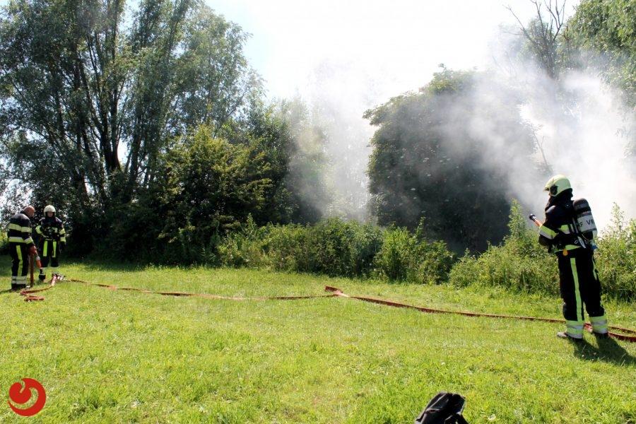 Opnieuw een brand in natuurgebied Rinsma Pôle