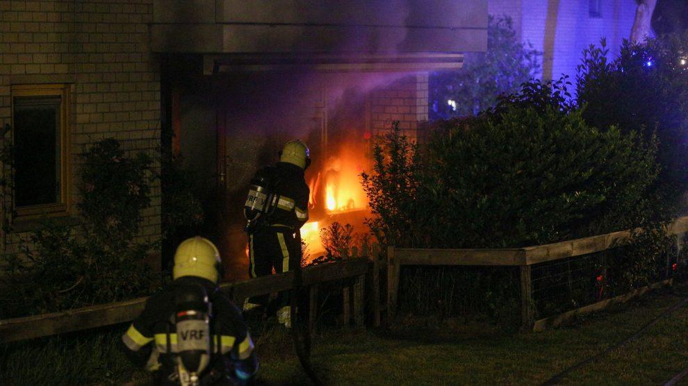 Veel schade bij uitslaande woningbrand