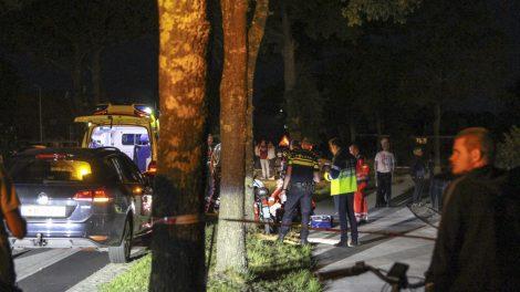 Bestuurder snorscooter ernstig gewond na val