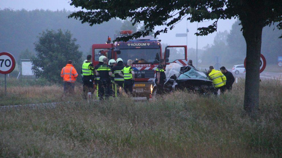 Twee jongeren omgekomen bij ernstig ongeval