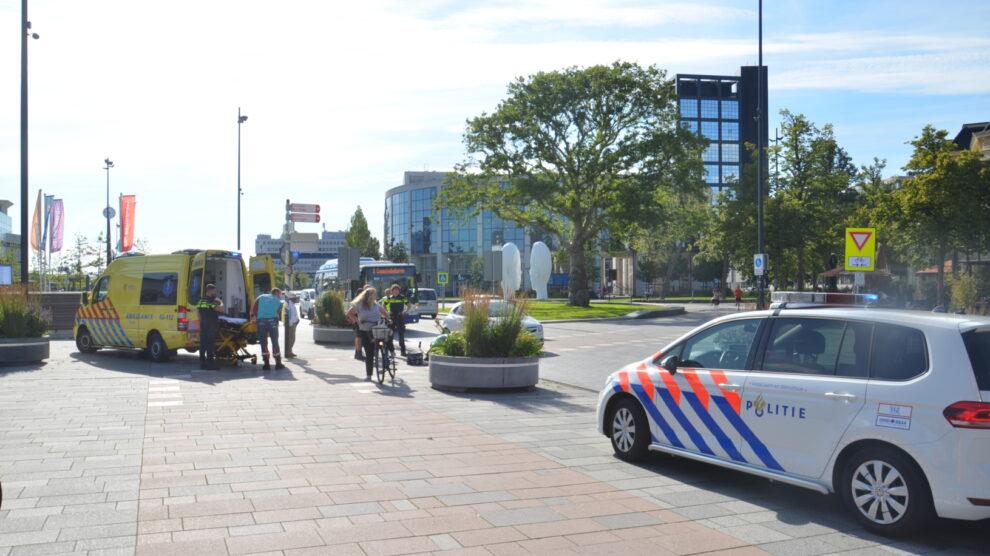 Fietsster aangereden door auto