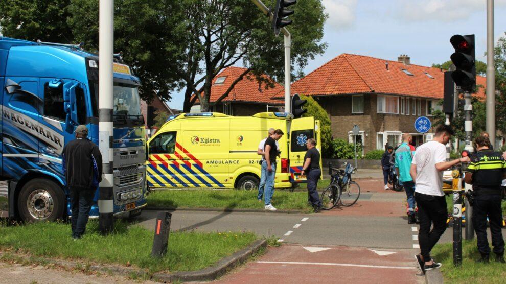 Fietser gewond op fietsersoversteek