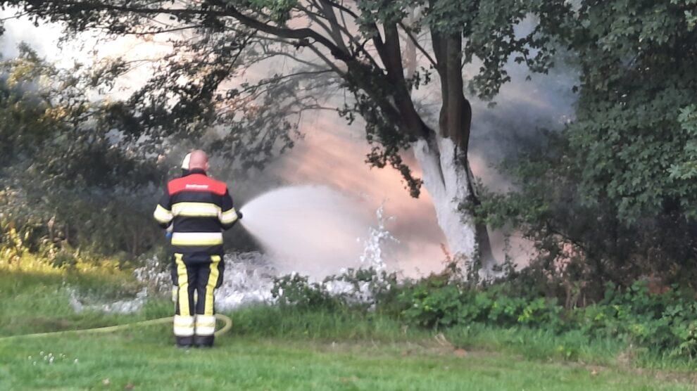 Alerte bewoner ontdekt brand en voorkomt erger