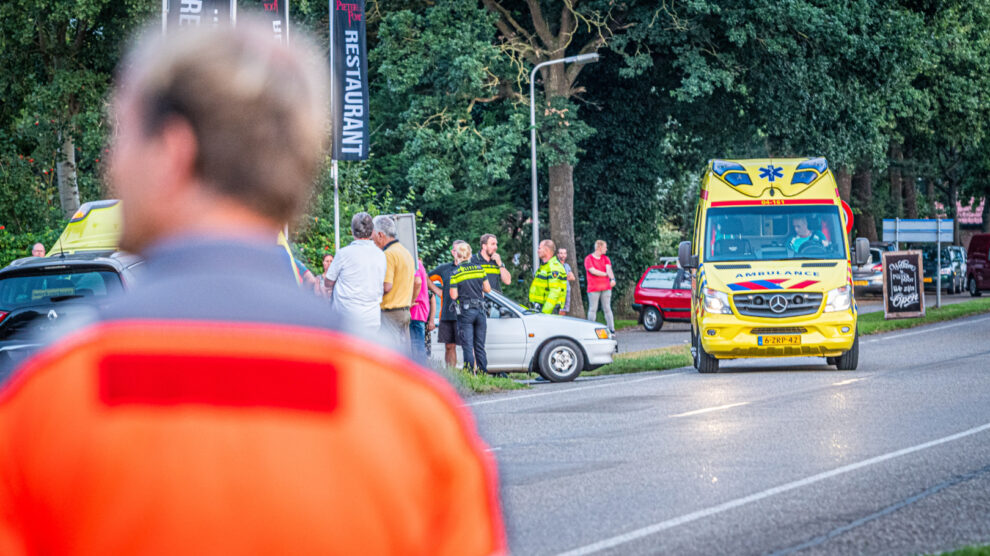 Twee gewonden bij ongeval
