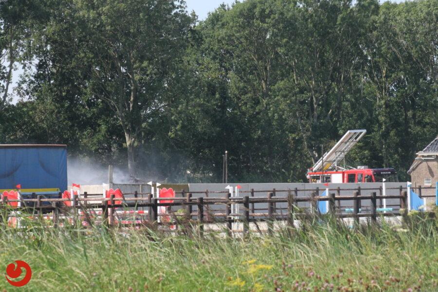Warm weer veroorzaakt twee broeibranden