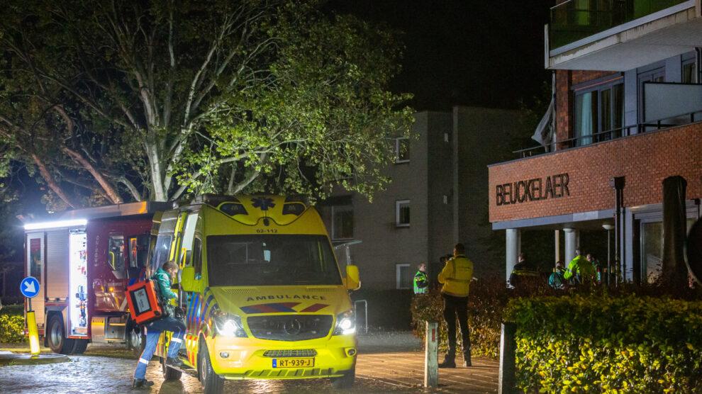 Appartementen ontruimd na brand in zorgcentrum