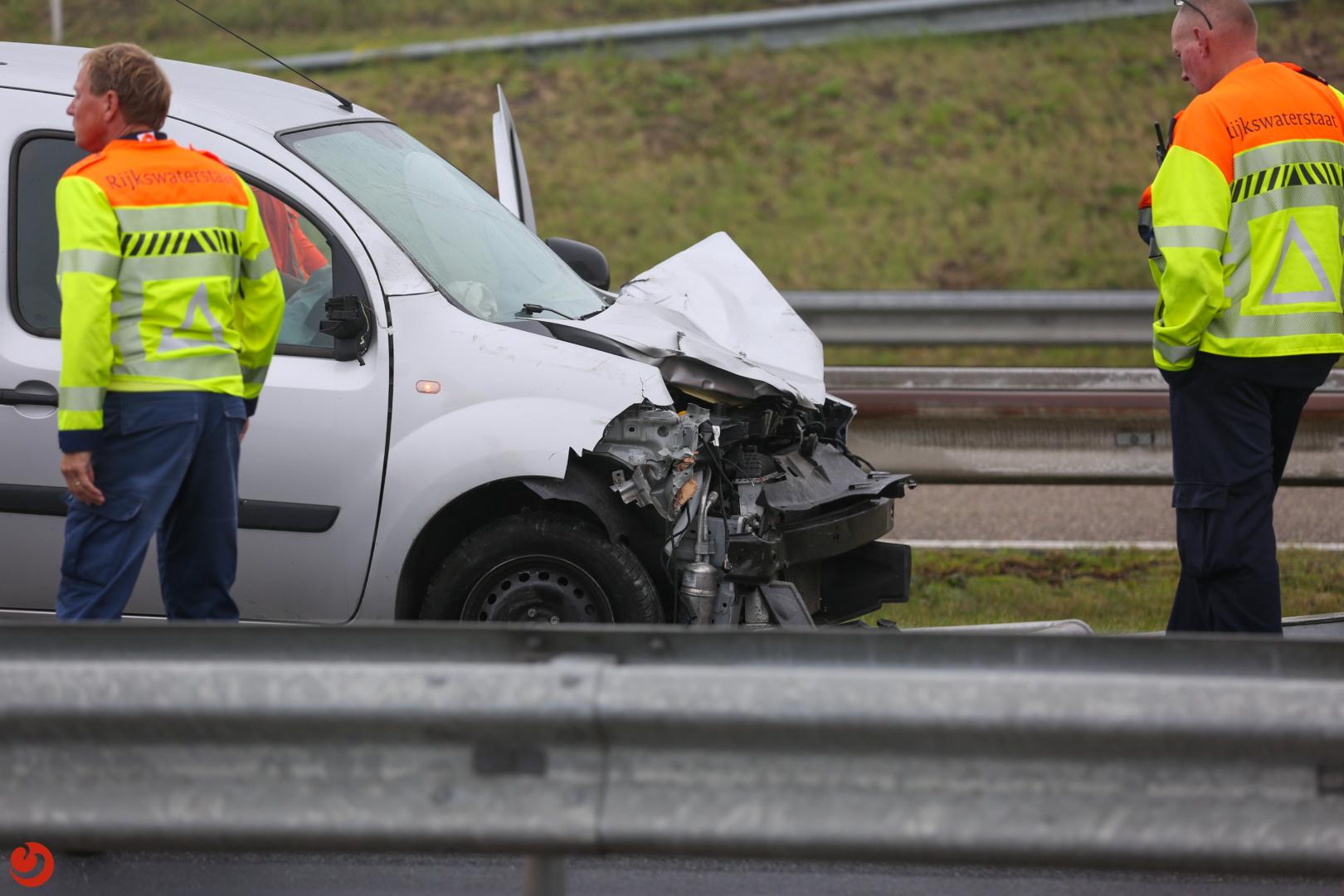 File door ongeval op Afsluitdijk