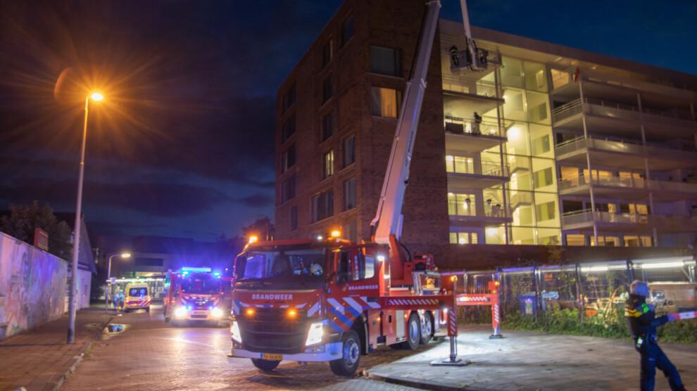 Brand in zorginstelling; ontruiming en grote inzet van hulpdiensten