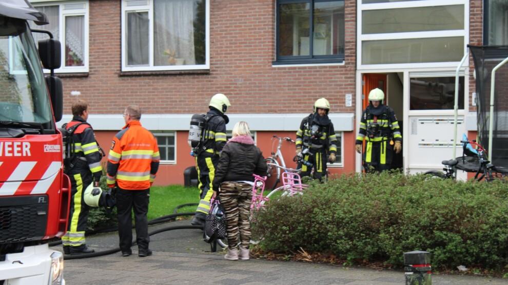 Brandweer blust brandje in kelder