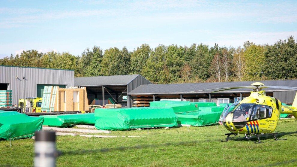Ernstig bedrijfsongeval bij Houttec Houtkonstrukties