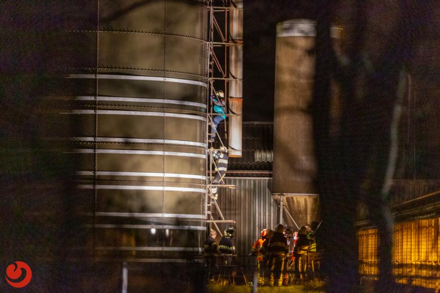 Persoon overleden na incident in silo