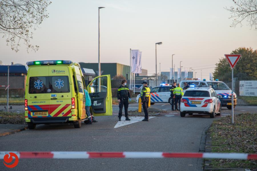Motorrijder overleden na botsing met auto