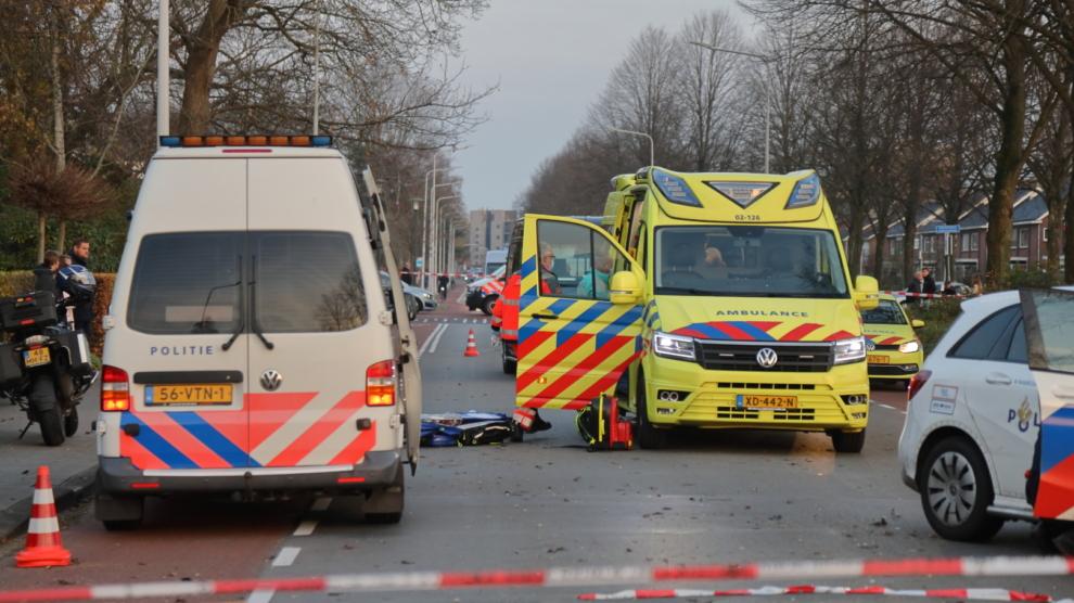 Fietser ernstig gewond na ongeval met taxibus