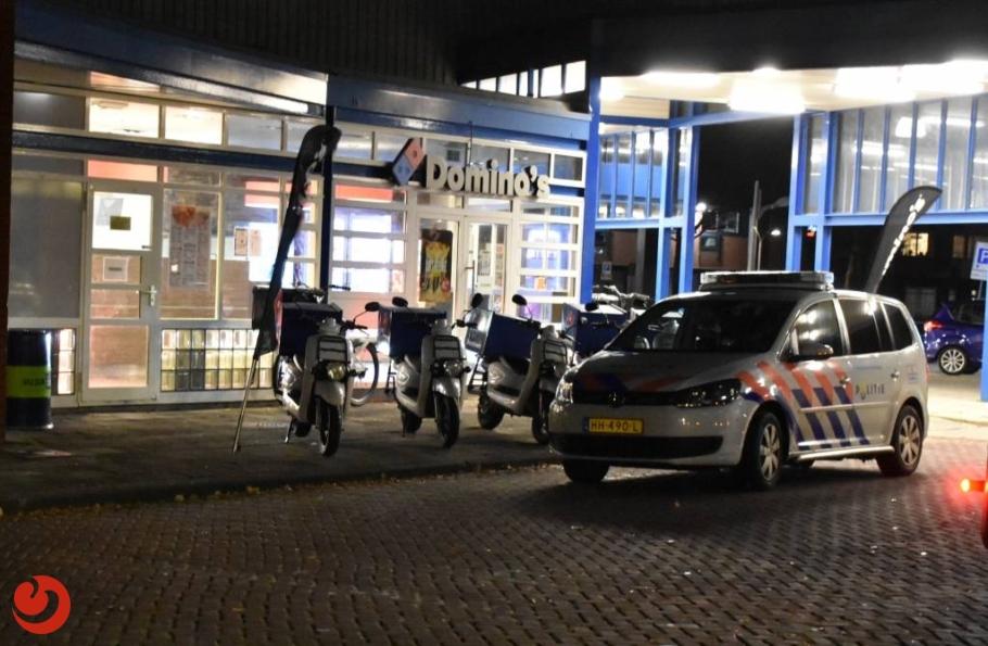 Gewapende overval op pizzeria; twee mannen gezocht