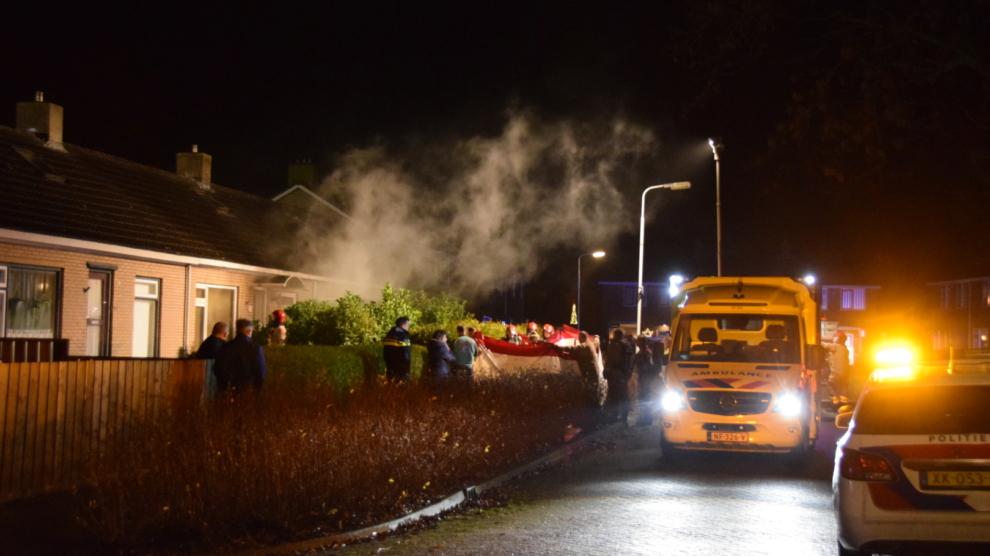 Vrouw (70) overleden bij brand in woning