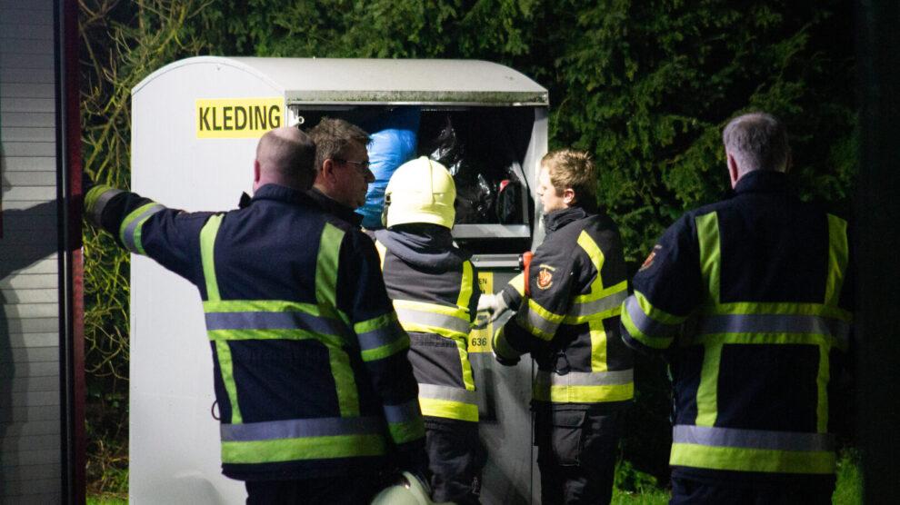 Hulpdiensten ingezet voor 'huilende baby' in container