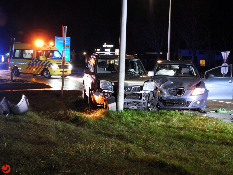 Forse schade bij ongeval.