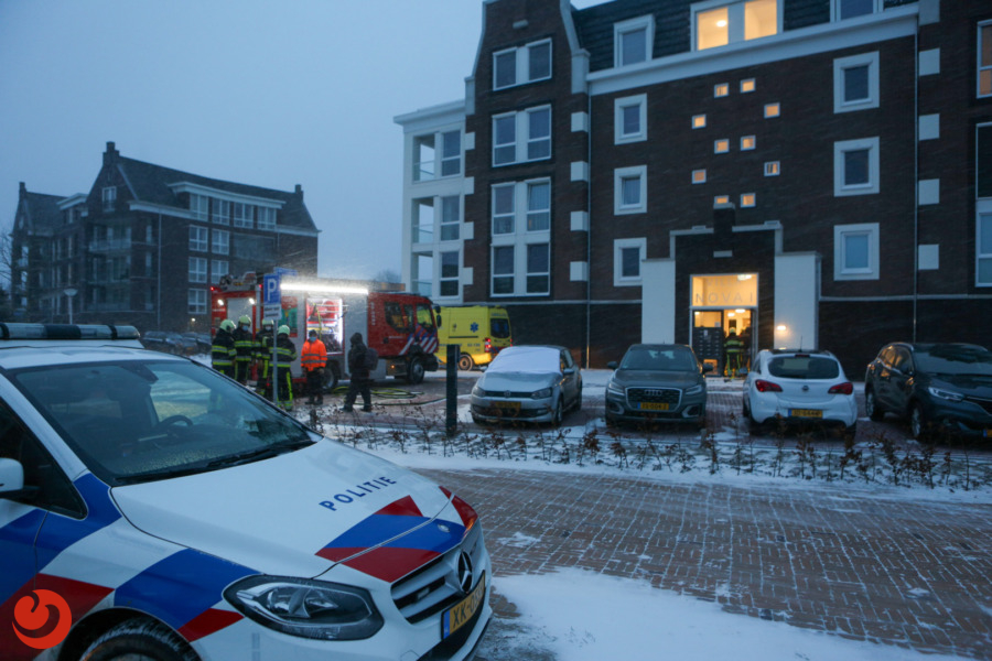 Brand in appartement snel onder controle