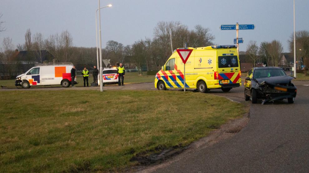 Ongeval tussen twee voertuigen op beruchte kruising