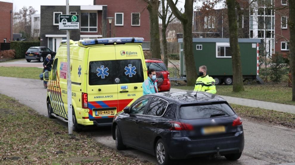 Fietser gewond na aanrijding met auto