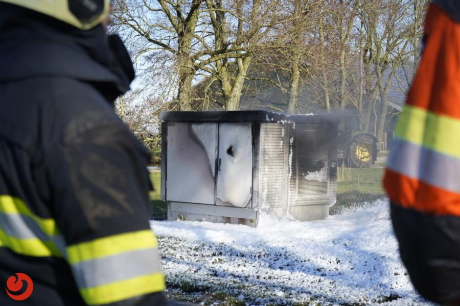Stroomstoring in Aldeboarn door brand in elektriciteitskast
