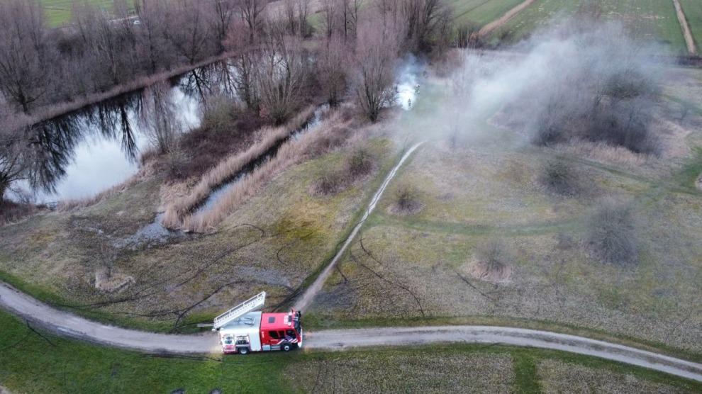 Vandalen stichten brand in Rinsma Pôle op exact dezelfde plaats