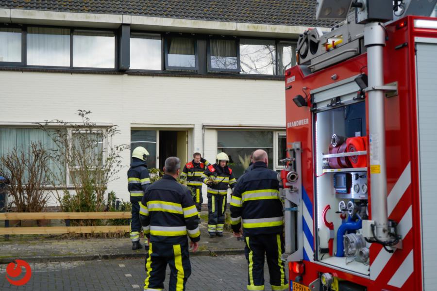 Woningen ontruimd na brand in wasdroger