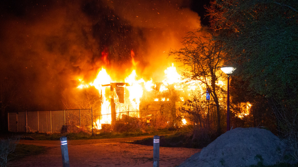 Wederom brand in voormalig gebouw muziekvereniging