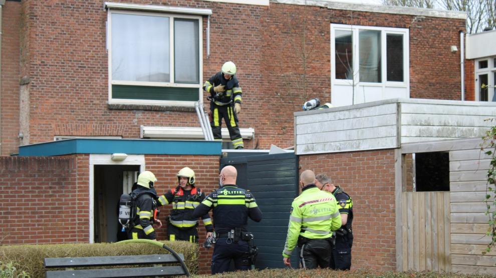 Brandje op dak na werkzaamheden