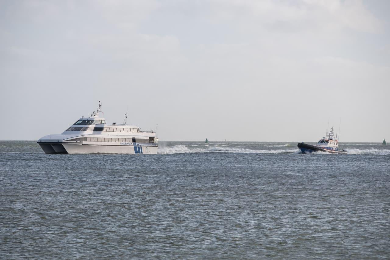 Brand aan boord van veerboot De Koegelwieck