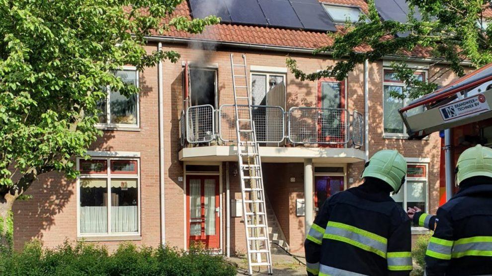 Gewonde bij woningbrand in Lemmer