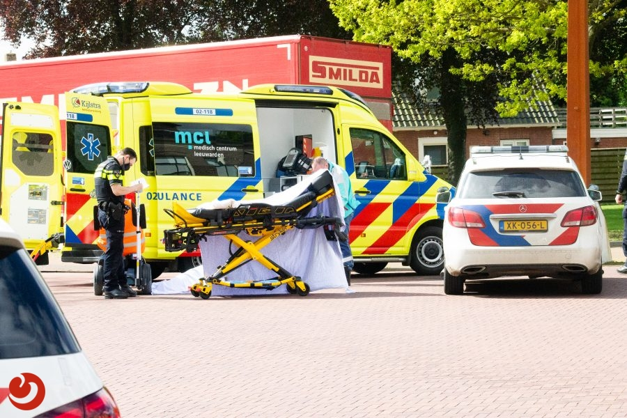 Scootmobieler gewond na schrikreactie in Damwâld