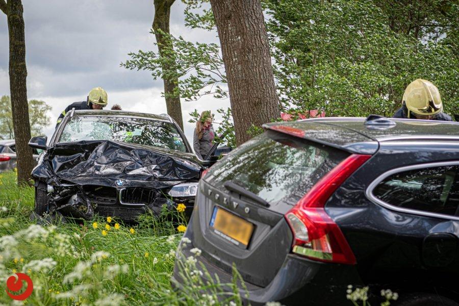 Twee gewonden bij ongeval Nijeholtwolde