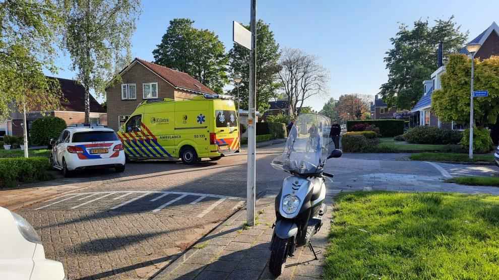 Scooterrijder raakt gewond na aanrijding met auto in Drachten