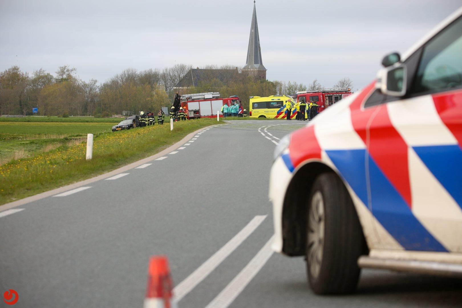 Dode en ernstig gewonde bij verkeersongeval.