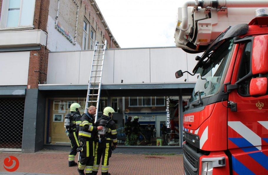 Twee brandmeldingen tegelijk door damp in Leeuwarden