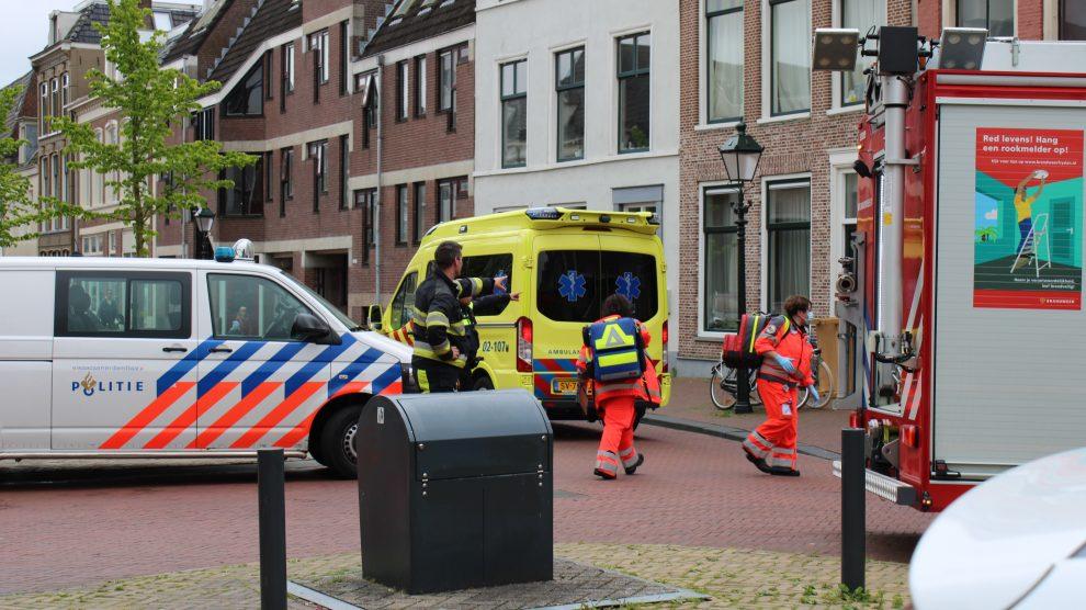 Persoon ernstig gewond na ongeval in woning in Leeuwarden
