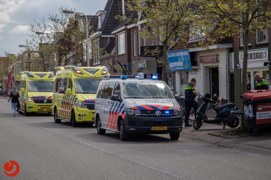 Twee gewonden bij ongeval met scooter in Leeuwarden