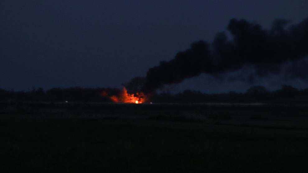 Hulpdiensten rukken groots uit voor melding bootbrand in Warten