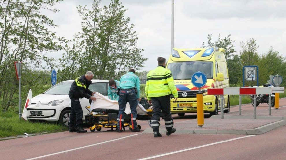 Gewonde en aanhouding bij ongeval met fietser in Damwald
